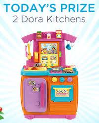 Dora The Explorer Kitchen Set by Enter To Win A Dora Kitchen From Nick Jr
