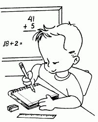 Kids Learning Addition Free Coloring Pages Constitution
