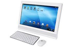 ordinateur de bureau tactile motorola cloudbb hmc3260 un ordinateur de bureau à écran tactile