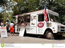 100 Food Truck Atlanta Customers Order Meals From In Park Editorial Stock Photo