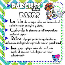 Kit Parches Infantiles Niño Termodhesivo Apliques Sublimados