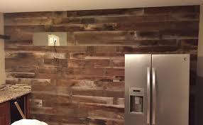 Barn Wood Wall Treatment