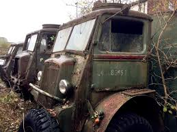 100 Ww2 Trucks Rusting Wartime Vehicles Saved From Scrapyard By Bradford Military