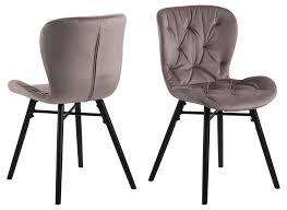 2x bali esszimmerstuhl rosa stuhl set esszimmer stühle möbel küchenstuhl küche dynamic 24 de