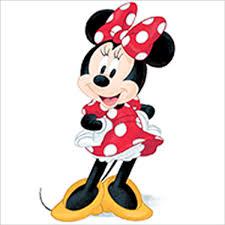 Disney Minnie Mouse Birthday Cake Candles