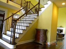 Wood Stairs And Rails And Iron Balusters: Install Iron Balusters ... Watch This Video Before Building A Deck Stairway Handrail Youtube Remodelaholic Stair Banister Renovation Using Existing Newel How To Paint An Oak Stair Railing Black And White Interior Cooper Stairworks Tips Techniques Installing Balusters Rail Renovation_spring 2012 Wood Stairs Rails Iron Install A Porch Railing Hgtv 38 Upgrade Removing Half Wall On And Replace Teresting Railings For Stairs Installation L Ornamental Handcrafted Cleves Oh Updating Railings In Split Level Home