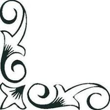 School Projects Art To Try Corner Border Clip Library Side Borders Apron Designs Stencils Design Moldings