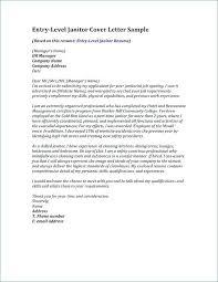Janitorial Resume Sample Custodian Cover Letter For Objective Samples