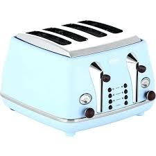 Blue Toaster 4 Slice Dark
