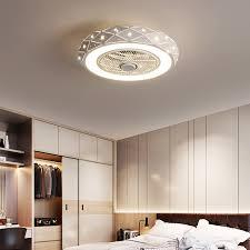 led deckenventilator mit fernbedienung für schlafzimmer