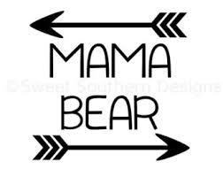 Online Mama Bear SVG Instant Download 12KB 340x270