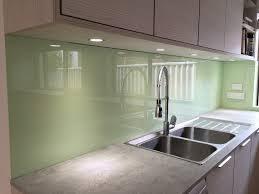 Green Splashback Kitchen Glass Splashbacks