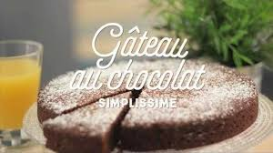 recette gâteau au chocolat simplissime facile rapide