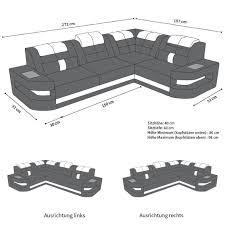 sofa dreams ledersofa como l form schwarz weiss wohnzimmer