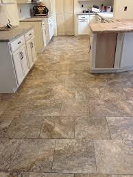Pleasant Vinyl Kitchen Flooring Charming Decor Ideas With