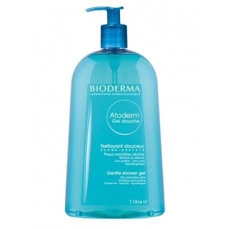 Bioderma Atoderm Gel Douche Gentle Shower Gel - 1L