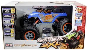 100 Rock Crawler Rc Trucks Maisto RC Monster Truck 3XL Blue Toy At Mighty