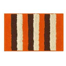 Orange Bath Rugs & Mats Mats The Home Depot