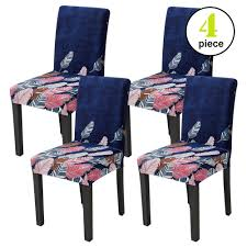 Leanking Knit Spandex Fabric Stretch Removable Washable Dining Room Chair  Slipcover Home Decor Set Of 4 (B, 4 Pcs) Buy Chair Covers Slipcovers Online At Overstock Our Best Authentic Denim One Piece Wing Slipcover Pleated Drape Leanking Knit Spandex Fabric Stretch Removable Washable Ding Room Home Decor Set Of 4 B Pcs Room Chair Slipcovers And Also Long Ding Covers Serta Relaxed Fit Smooth Suede Fniture 2 Pack Dingparsons Long Skirt White Cotton Marvelous Cisco Brothers Parsons Dning Slip Barn Beyond How To Sew A For The Ikea Henriksdal Bar Pottery Side Loosefit Tie Indigo Surefit Jacquard Damask Shorty Oyster Sf40120 Hampton Bay Spring Haven Cushionguard Midnight Patio 2pack