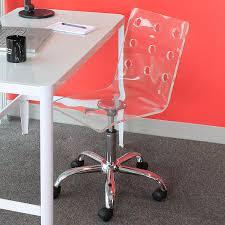 Acrylic Desk Chair On Casters by Amazon Com Woybr Ofc Tw Cl Acrylic Chrome Swiss Office Chair