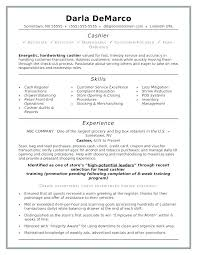 Sample Resume Cashier Tim Hortons No Experience Examples Ience For