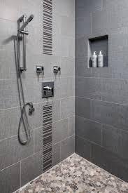 Bathroom Best Gray Shower Tile Ideas Pinterest Striking
