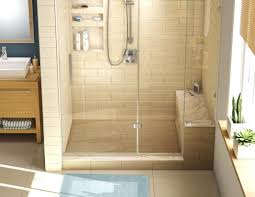 tile ready shower pan tiled showers with bench 36 home design 714