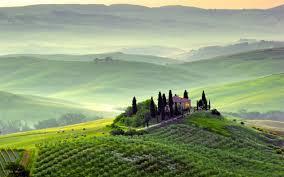 Tuscany Pienza Toscana Italy Wallpaper