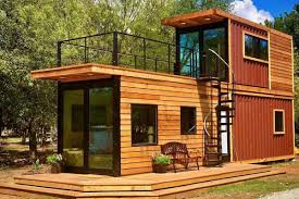 100 Container Homes Pictures 2 Storey Stacked Shipping Container Home With A Roof Terrace
