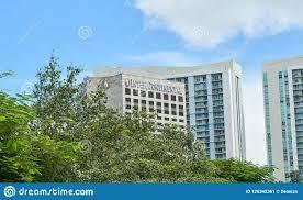 100 Miami Modern Intercontinental Skyscraper In Editorial Photo Image