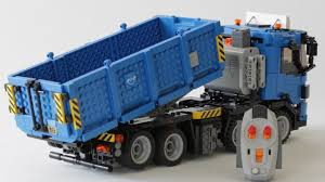 100 Lego Remote Control Truck LEGO RC Container YouTube