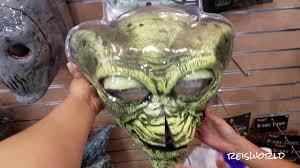 Spirit Halloween Animatronic Mask by Halloween Masks At Spirit Halloween Store 2017 Youtube
