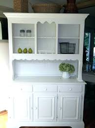Contemporary Dining Room Storage Cabinets Kitchen Hutch Buffet Cabinet White China Medium Si Built In