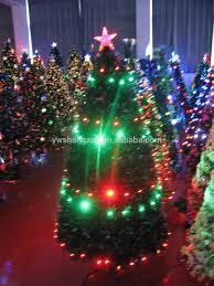 Fiber Optic Led Christmas Tree 7ft by 2 Ft 7 Ft Home Decoration Color Changing Fiber Optic Led Lights