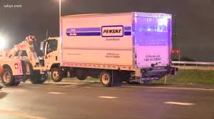 100 Truck Rental Cleveland Carrying Blood Donations Crashes In