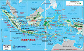 Indonesia Map Geography Of