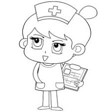 Free Printable Coloring Pages Of Nurse Taking Details Patients