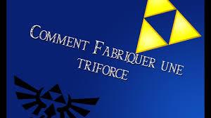triforce l diy comment fabriquer une triforce