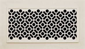 Decorative Air Return Grille by Decorative Vent Cover For A 14x6 Opening Resin Paint Grade Grille