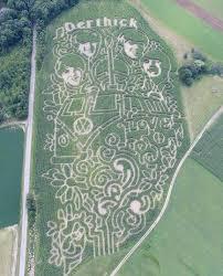 Kent Ohio Pumpkin Patches by Derthick U0027s Corn Maze
