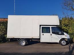 100 Crew Cab Box Truck 2007 Ford Transit Very Rear Crew Cab Luton Box 7 Seater With New Mot In