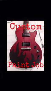 Picture Of How To Give Your Guitar A Custom Paint Job