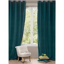 chambre bébé bleu canard rideaux chambre bebe garcon 9 rideau en velours bleu canard 140