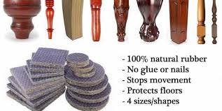 Rubber Chair Leg Protectors For Hardwood Floors by How To Stop Furniture Sliding On Hardwood And Tile Floors August 2013