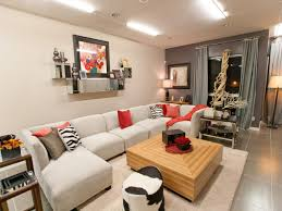 Red Black And Brown Living Room Ideas by Dazzling Decorating Ideas Using Rectangular Cream Rugs And