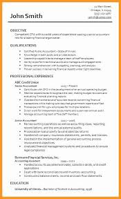 Public Accounting Resume Astonishing 47 Unique Sample For Junior Accountant Template Free