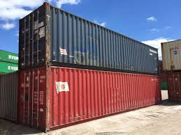 Used Shipping Container Wind And Water Tight Conex Mil Van