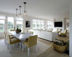 Kitchen And Living Room Design Dining Small Open Plan Pictures