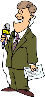 28 Collection Of News Reporter Clipart