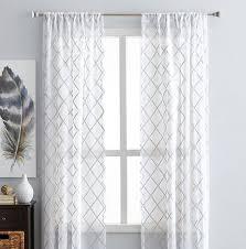hometrends diamond embroidered window panel walmart canada